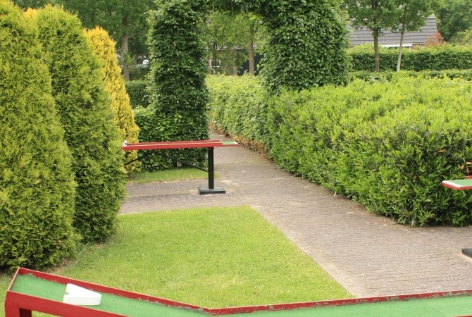 Recreatietuin midgetgolf 't volderke
